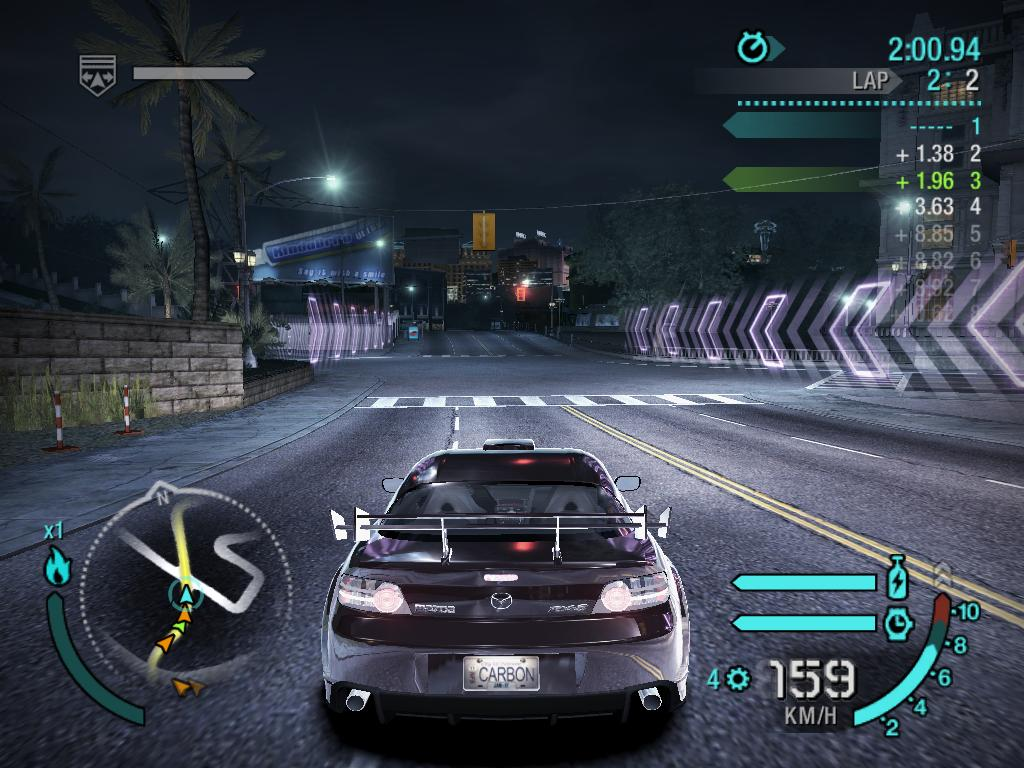 Need for speed: carbon 3d java game for mobile. Need for speed.