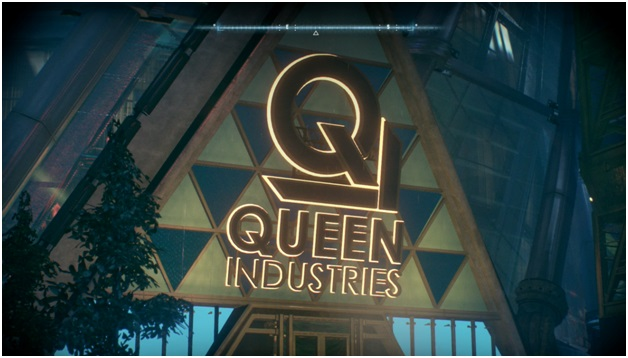 "Batman: Arkham Knight – лавка ""Queen Industries"""