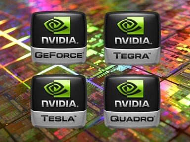 Lines and marking of NVIDIA video cards small file